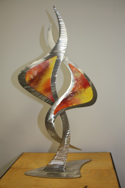 "Scupture "" Flamme "" (recto)"